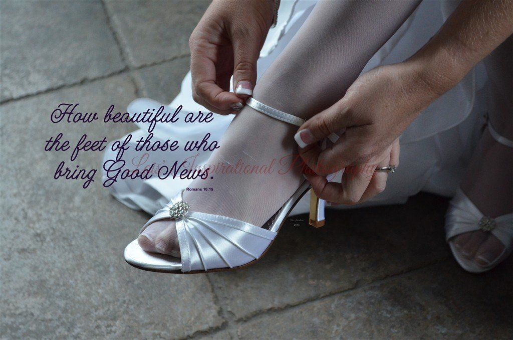 How beautiful are the feet